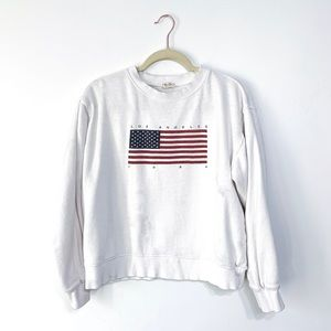 John Galt Los Angeles Flag Sweatshirt